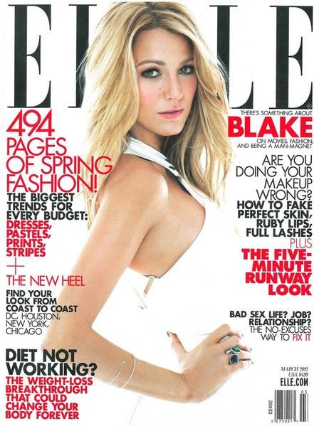 Elle Magazine March 2012